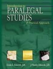 NEW Introduction to Paralegal Studies: A Practical Approach by Linda L. Edwards