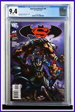 Superman Batman #54 CGC Graded 9.4 DC January 2009 White Pages Comic Book.