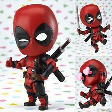Marvel Deadpool Orechan Edition Figurine Statue 10cm No Box Nendoroid #662