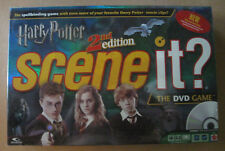 Harry Potter 2nd Edition Scene It The DVD Board Game New Factory Sealed Package