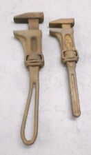 (2) Vintage IH Monkey Pipe Wrench International Harvester  Farming Tractor  S307