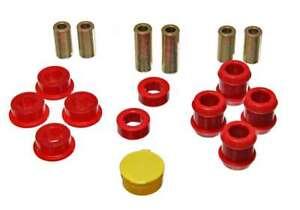 Energy Suspension 16-3103R (Kit) Control Arm Bushing Hyper-Flex Red Polyurethane