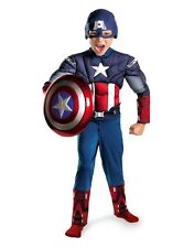Avengers Captain America Muscle Child Costume-Large ( Size 10-12 ) 43652