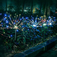 Solar Power Lichter Terrasse Garten Outdoor Led-leuchten Wohnkultur 90LED Bunte