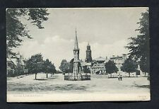 C1910 View of Banbury Cross & Church, Oxfordshire.