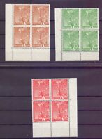 Berlin 1952 - 4erBlock-Satz - MiNr. 88/90 postfrisch** - Michel 120,00 € (743)