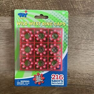 216 SHOT PACK 8 Ring Caps Wild West 216 TOTAL SHOTS - FAST FREE SHIP