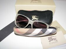 """NIB AUTH BURBERRY """"HEARTS"""" col-STONE with GREY GRADIENT LENSES SUNGLASSES Italy"""