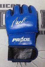 Rickson Gracie Signed Pride FC MMA Glove PSA/DNA COA UFC Autograph 1 4 Vale Tudo