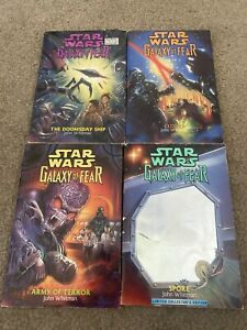 Star Wars Galaxy Of Fear 4 Vintage Paperback Books By John Whitman