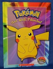Pokemon Master's Book Club Childs Book Get Well, Pikachu! New Scolastic 2004