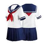 Japanese JK School Uniform Sailor Dress Anime Shoujo Cosplay Costume Halloween