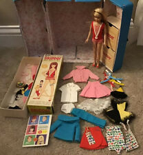 New ListingVintage 1964 Barbie Skipper Blonde Doll, Case, Clothes, Box and Accessories