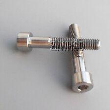 2pcs M7 x 40 Titanium Ti Screw Bolt Allen hex Socket Cap head / Aerospace Grade