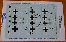 Microscale Decal 1:48 Scale #48-921 / Messerschmitt Bfl09G-6/6 Trop./R6 Trop: 5.