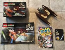 Lego Star Wars Episode I Droid Fighter 7111 Complete In Box w/ Instructions