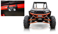 300 Lumens LED Dome Light+Cage Clamps+Billet Mount for Polaris RZR Hyper-White