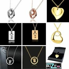 Gold Crystal heart Costume Necklaces & Pendants