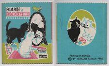 Livre Jeunesse Ancien en Tissu Book Pompon et Pomponnette Ed. Fernand Nathan