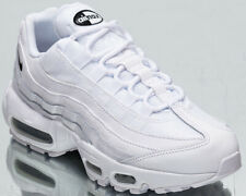 Nike Air Max 95 Women's White Black Low Casual Athletic Lifestyle Sneakers Shoes