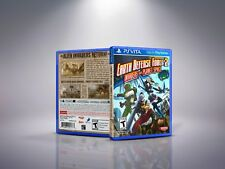 Earth Defense Force 2: Invaders - PlayStation Vita Cover and Case. NO GAME!!
