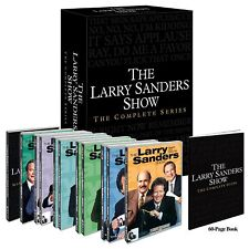 THE LARRY SANDERS SHOW COMPLETE SERIES DVD 17 DISC BOXSET COLLECTION 89 EPISODES