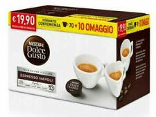 80 Capsule Caffè Gusto NAPOLI Nescafè DOLCE GUSTO Originali capsule dolcegusto