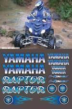 Raptor Blue Full Color 16pc Quad ATV Decals Stickers Graphics 660R, 250, 700