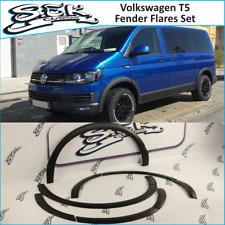 VW Transporter T5 Fender Flares Set 10 pcs ,Wheel Arches Trim Fit to lwb swb