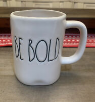 Rae Dunn By Magenta - LL BE BOLD - White Ceramic Coffee Mug