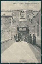 Siracusa Augusta Porta Penitenziario Militari cartolina QT4910