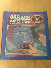 1984 Vintage Tara Toy Corp 72 Car Garage Carry Case - Matchbox Hot Wheels Other