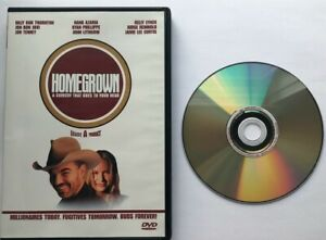 HOMEGROWN - DVD (1998) Billy Bob Thornton Jon Bon Jovi Mint Kelly Lynch OOP