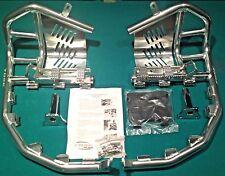 Suzuki Z400 LTZ 400 QUADSPORT 2003–2008 Tusk Foot Peg Nerf Bars w/ Heel Guards