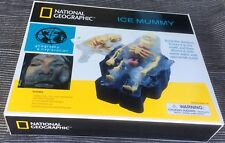 National Geographic 2002 Ice Mummy Cryogenic Lab Kit Ages 6+ New Unopened Box!