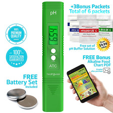 Digital pH Meter - Pocket SIZE - pH Pen Tests Household Drinking Water, Aquarium