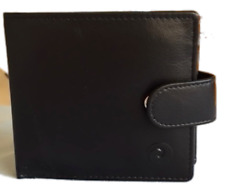 Origin Wallet with Tab and Coin Section - Black - Mala Leather - RFID Protection