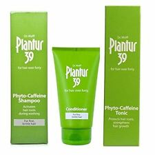 Plantur 39 Caffeine Tonic, Shampoo and Conditioner For Fine Brittle Hair