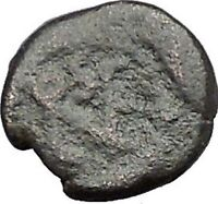 LEO I 457AD Constantinople Genuine Authentic Ancient ROMAN Coin MONOGRAM i54772