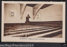 1749.-SALAMANCA -Cátedra de Fray Luis de León