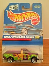 1998 Hot Wheels - FORD F-SERIES CNG PICKUP  #908