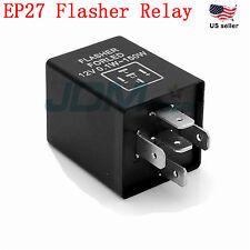 JDM ASTAR EP-27 LED Flasher Relay Fix Hyper Flash Car Turn Signal Load Equalizer