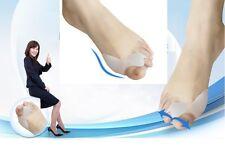 2x Gel Ballenschutz Einlage Zehenspreizer Reibungsschutz Zehentrenner Gesundheit