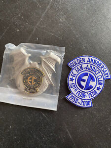 ec comics 2000 fan-addict membership Loose Patch & Pin Tales From The Crypt