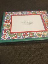 Christmas Photo Cards (2) Boxed Sets, 15 Total Cards w/Envelopes, Nib