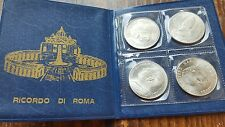 citta del vaticano 4 Sammelmünzen Papst Papi TOP