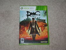 DMC DEVIL MAY CRY...XBOX 360...***SEALED***BRAND NEW***!!!!!