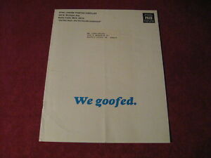 1967 Pontiac Sales Brochure Original Old Booklet Book Catalog