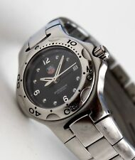 TAG HEUER Luxury Sport Watch for Women, WL1312-0, Kirium model, Black Face