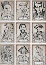 Outlander season 3 - 9 card Character set (C1 - C9)
